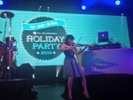 Electric Violin with DJ Drummer