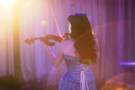 Red Electric Violin